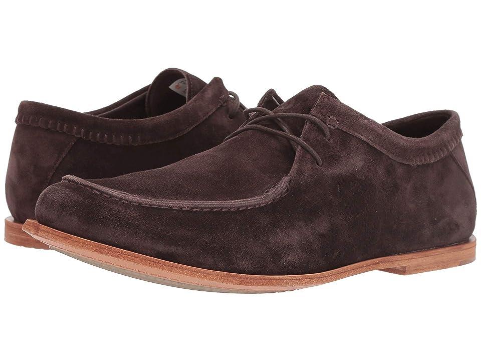 Timberland Boot Company Tauk Point 2 Eye Moc (Dark Brown Suede) Men