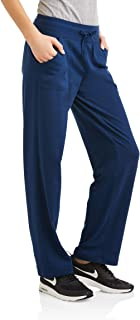 Athletic Works Women's Active Knit Pants Available In Regular and Petite (XS, Indigo Essence)