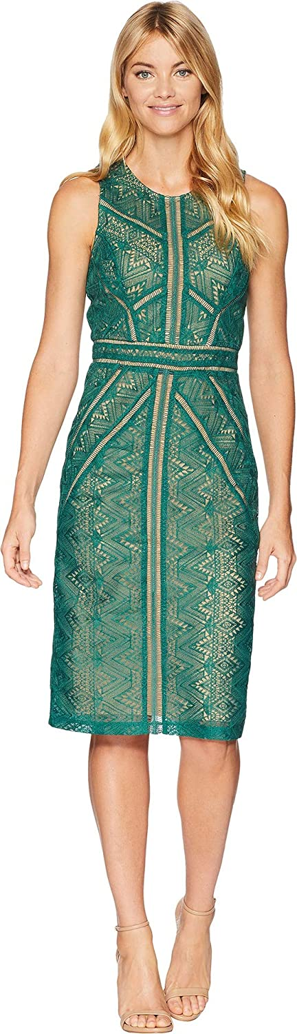 Bardot Women's Eve Lace Dress Wild Green Medium