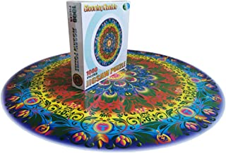 Marvelous Monkey 1000 PCS New Mandala Round Jigsaw Puzzles Game for Adults and Kids