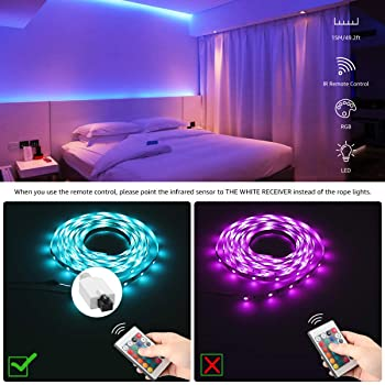 Explore Rope Lights For Bedrooms Amazon Com