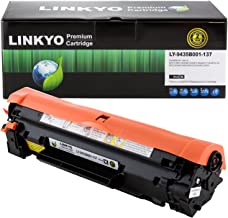 LINKYO Compatible Toner Cartridge Replacement for Canon 137 9435B001AA (Black)