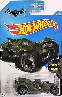 Hot Wheels 2017 Batman Batman: Arkham Knight Batmobile 88/365, Dark Green