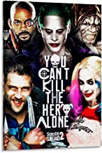 Suicide Squad Kills Justice League Joker Poster Wall Decoration, Modern Artistic Conception Fusion Art, 08x12inch(20x30cm)...
