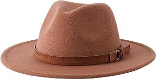 کلاه پشمی نمدی پشمی پشمی لبه دار لانزوم بچه گانه کلاه Bowknot Floppy Fedora