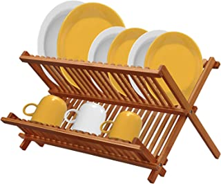 dish drying rack with cover