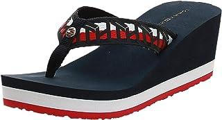 Tommy Hilfiger TH WEBBING WEDGE BEACH SANDAL Women's Fashion Sandals