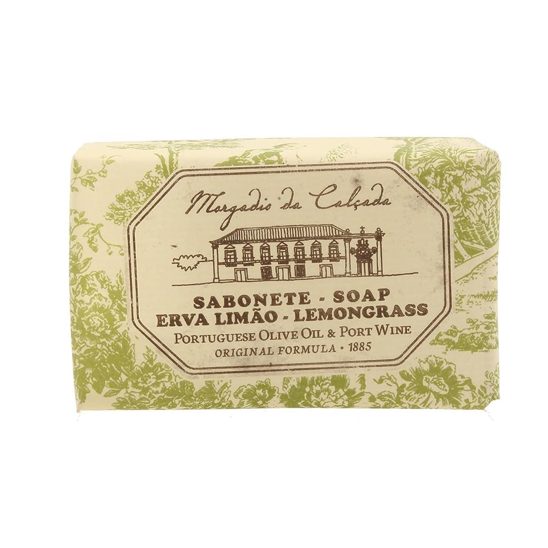 サラミ信念勤勉なモルガディオ ダ カルサダ ソープ レモングラス 95g