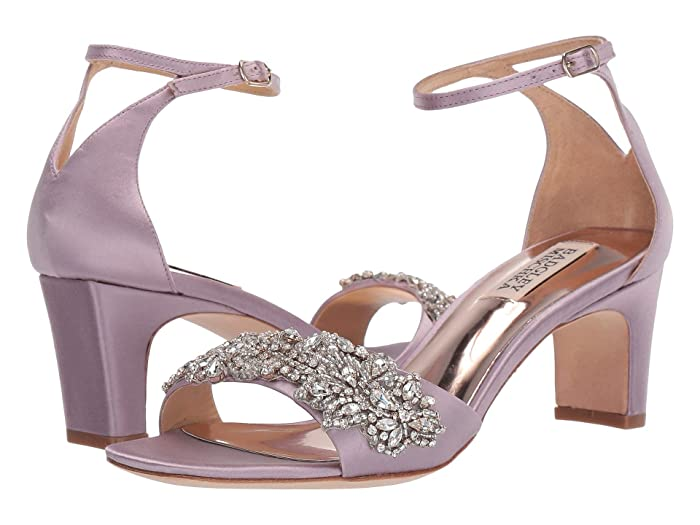 Badgley Mischka  Alison (Soft Lilac Satin) High Heels