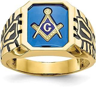 Best white gold freemason rings Reviews