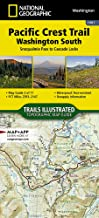 Pacific Crest Trail, Washington South [Snoqualmie Pass to Cascade Locks] (National Geographic Topographic Map Guide (1003))