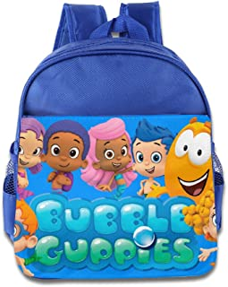 Bubble Guppies Kids School Backpack Bag