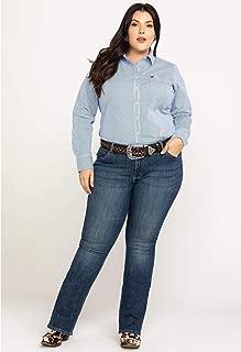 Best women's plus size wrangler jeans Reviews