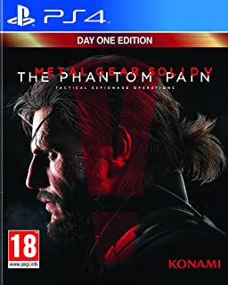 Konami Metal Gear Solid V The Phantom Pain [Playstation 4]