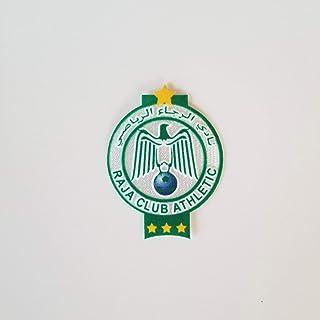 Raja Club Athletic Casablanca Morocco Fabric FIFA Decal Football Soccer Africa