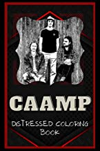 Caamp Distressed Coloring Book: Artistic Adult Coloring Book