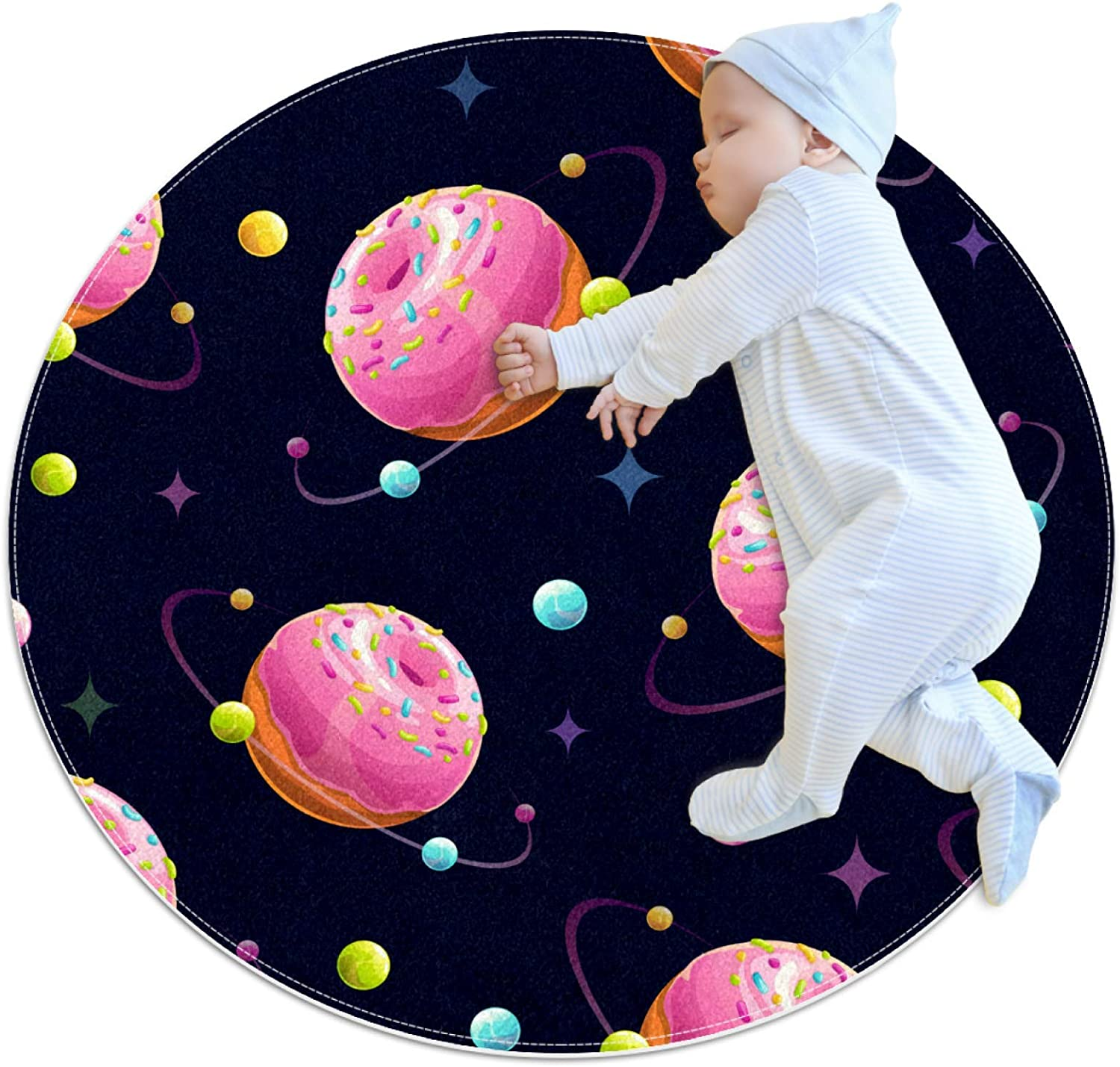 Pet Superlatite Round Mat Space Donut for Do Planet Low price Colorful Feeding
