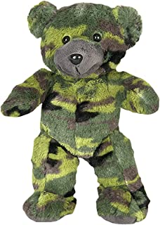 Cuddly Soft 8 inch Stuffed Camo Teddy Bear - We Stuff 'em...You Love 'em!