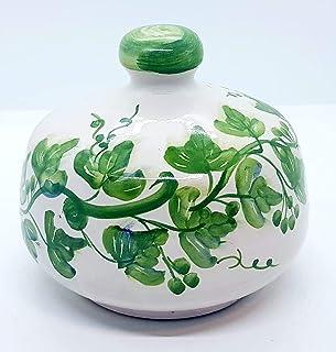 Nascondispugna Linea Edere per Cucina e Bagno Handmade Le Ceramiche del Castello 100% Made in Italy