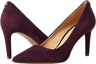 Michael Michael Kors Womens Dorothy Flex Pump Leather Pointed, Oxblood, Size 8.5