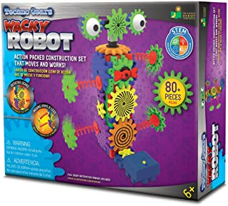The Learning Journey Techno Gears STEM Construction Set – Wacky Robot (60+ pieces) – Learning Toys & Gifts for Boys & Girls Ages 6 Years and Up