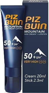Piz Buin Mountain Sun Cream + szminka do ust SPF 50+ 20 ml