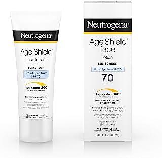 Neutrogena Age Shield Face Lotion Sunscreen Broad Spectrum SPF 70 - 3 Oz