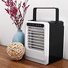 Air-Conditioning Controllers, USB Mini Portable Air Conditioner Desktop, Air Cooling Fan Cooling Fan for Office Home 3 Spe...