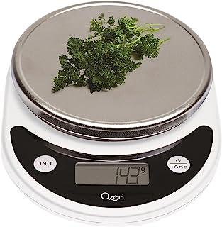 Ozeri ZK14-W Pronto Digital Escala multifuncional de cocina y alimentos, color blanco