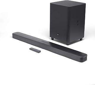 JBL 5.1-Channel 4K Ultra HD Soundbar with Wireless Subwoofer BAR 5.1, black
