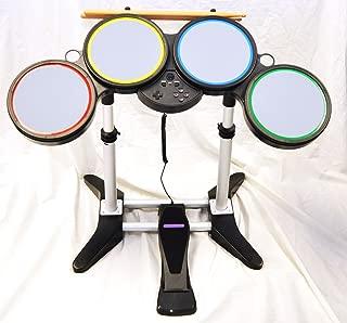 Nintendo Wii-U and Wii ROCK BAND Wireless Drum Set kit 2 3 4 Beatles guitar hero