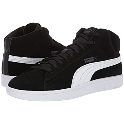 PUMA Puma Smash V2 Mid SD (Puma Black/Puma White) Men