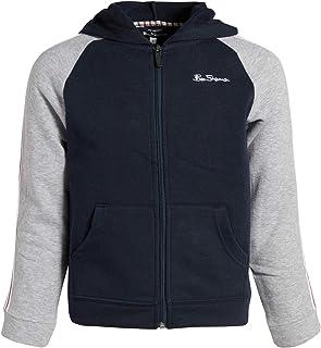 Ben Sherman Boys Full-Zip Fashion Hoodie Sweatshirt
