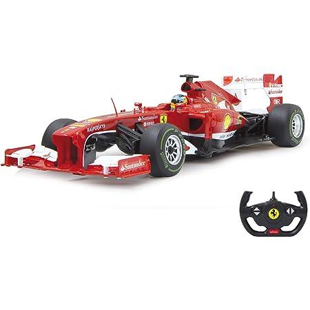 Jamara- Ferrari F1 Vehículos de Control Remoto, Color rojo/blanco (403090) , color/modelo surtido