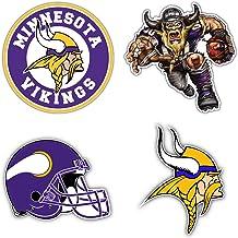 Minnesota Sport Car Bumper Sticker Decal hotprint Vikings Football