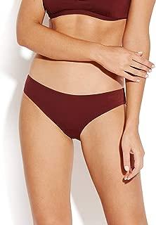 Seafolly Womens Swimwear Red US Size 12 Solid Hipster Bikini Bottom