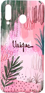 Boter Back Cover Hard Slim Case Flowers Design For Samsung Galaxy M30 - Multi Color