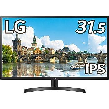 LG モニター ディスプレイ 32MN50W-B 31.5インチ/フルHD/IPS/HDMI、D-Sub/FreeSync/フリッカーセーフ、ブルーライト低減機能