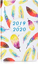 Planner 2019-2020 Hardcover, Daily Weekly Monthly Personal Organizer, 5.5x8 Inches