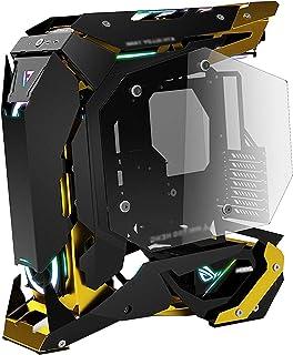 Caja Pc Gamer Estuche Para Juegos ATX Estuche Para Computadora De Escritorio Negro, Puertos USB 3.0 Panel Lateral De Vidri...
