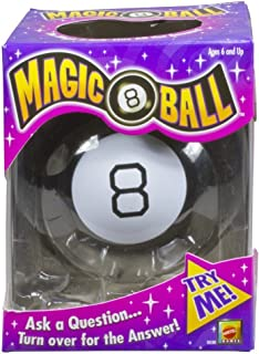 Mattel Games Magic 8 Ball, Black