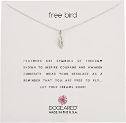 Dogeared - Free Bird, Open Feather Necklace
