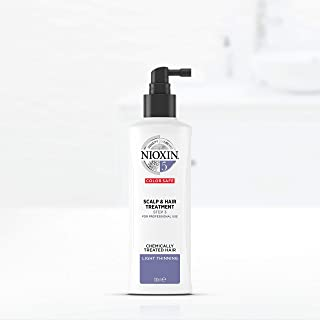 Nioxin System 5 Scalp & Hair Treatment for Chemically Treated Hair with Light Thinning, 100ml