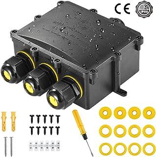 pour /éclairage sous-marin Lampadaires LED Bo/îte de jonction /électrique bo/îtier de connecteur /électronique universel ext/érieur /étanche /à 2 voies
