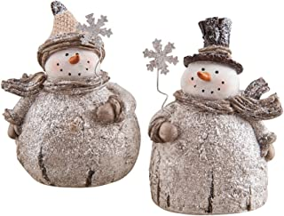 C&F Home Snowman, Assorted of 2