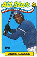 1989 Topps Baseball #391 Andre Dawson All Star