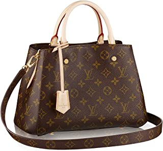 Louis Vuitton Monogram Canvas Montaigne BB Handbag Article M41055 Made in  France 87d597461ceab
