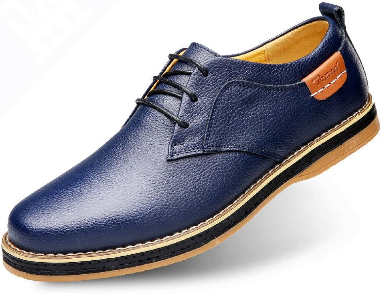 LEDLFIE Men's Leather shoes Fashion shoes Casual shoes