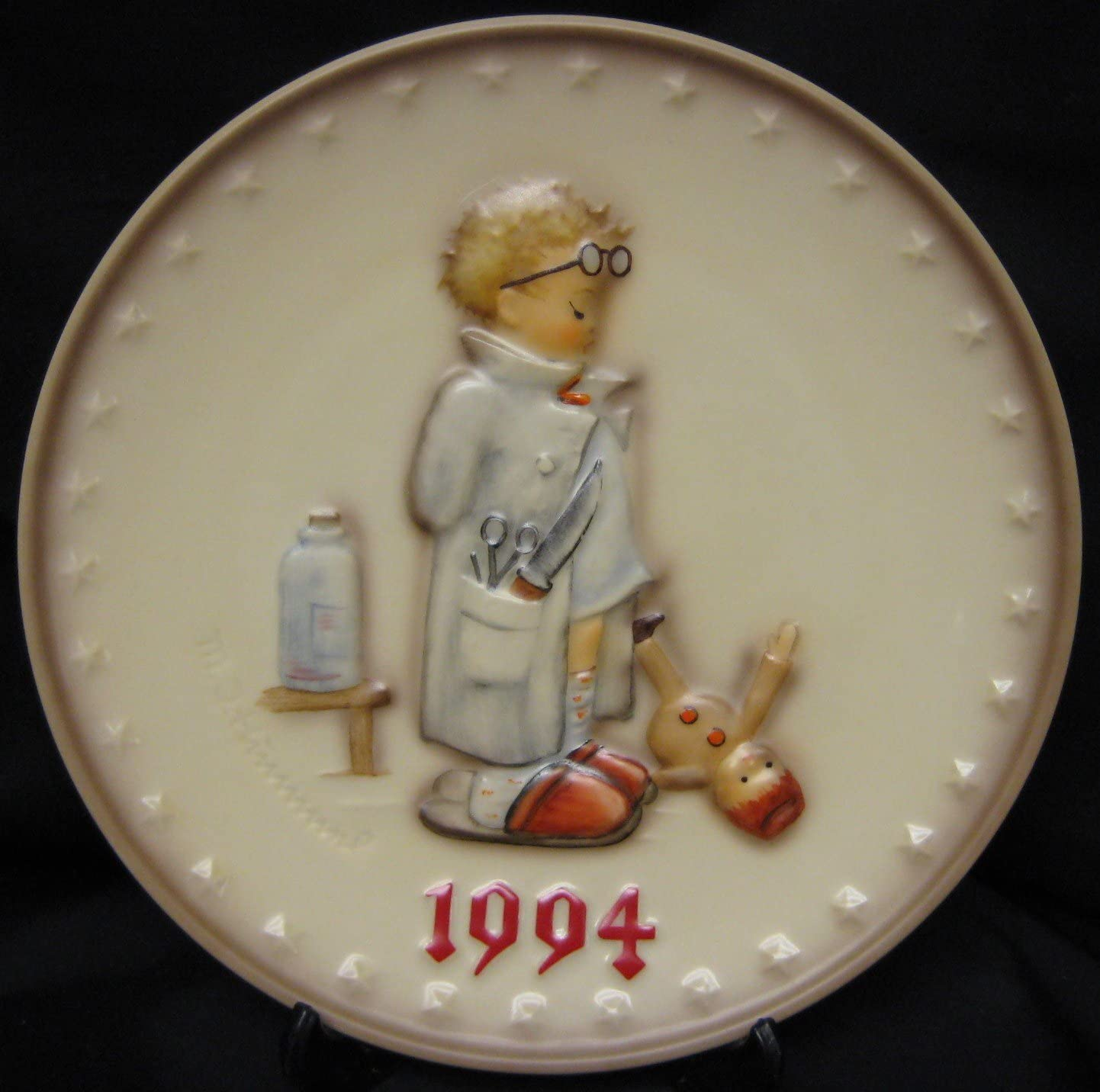 M. I. Hummel Import Annual Plate 24th Max 78% OFF Edition Goebel - 1994
