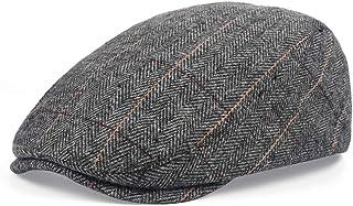 Newsboy Hat Cap for Men Classic Herringbone Newsboy Ivy Hat 1920s Mens Gatsby Costume Accessories